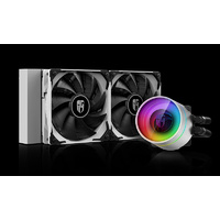Deepcool Castle 240EX RGB AIO CPU Cooler - White